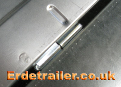 Tailgate hinge together