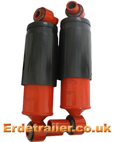Erde trailer shock absorbers