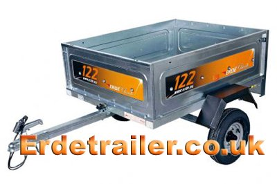 Complete Erde 122 leisure trailer
