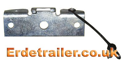 Erde 122 trailer tipping bracket