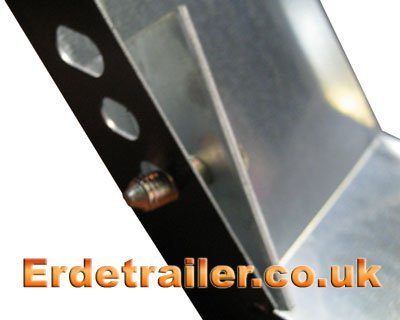Fit mudguard reinforcement plate
