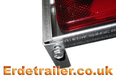 Bolt under light bar