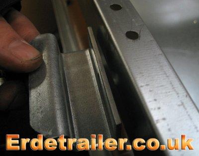Erde hard-cover reinforcement plate