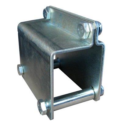 Jockey wheel clamp 60mm drawbar