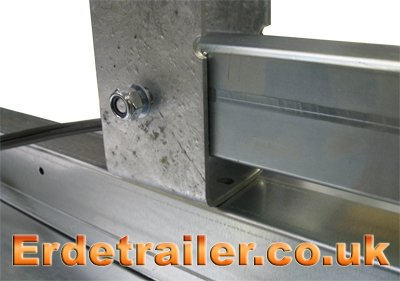 Attach the drawbar to the axle