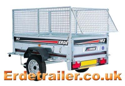 Erde mesh trailer panels