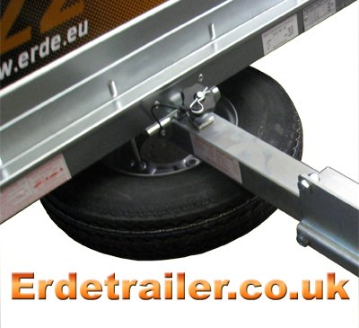 Erde spare wheel support