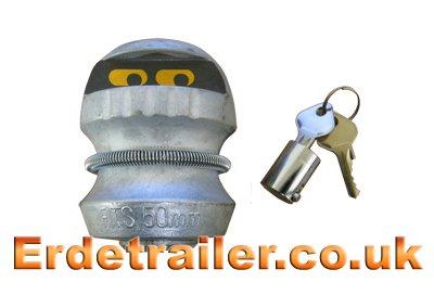 'Trailer Cop' trailer lock