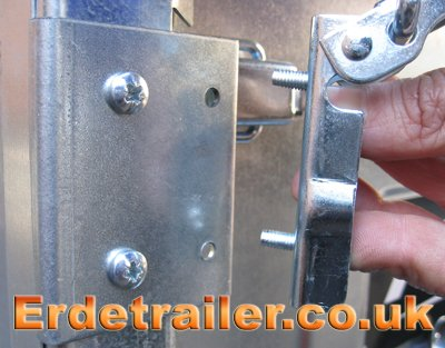 Mounting plate for latch