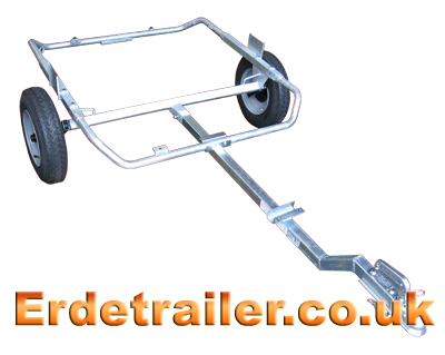 Turn the trailer the correct way up.