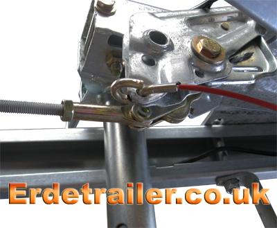 Erde 234x4F braked coupling 2