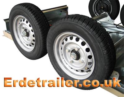 Erde 234x4F wheels