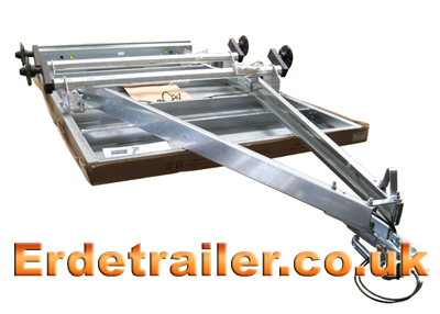 Erde 234x4 A-frame drawbar