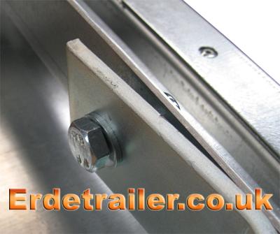A-frame drawbar bolt