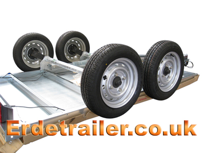 Attach the wheels to the axles