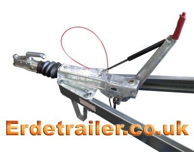 Erde 234x4F braked coupling