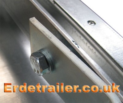 A-frame drawbar bolt